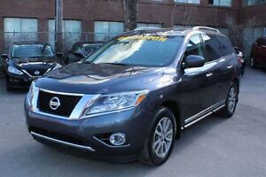 2014 Nissan Pathfinder SL 4WD SL CUIR TRACTION INTEGRAL JAMAIS A
