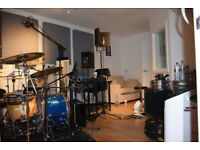 Monthly / yearly Hire - 1 x Music Recording Studios in North West London NW2 long term let