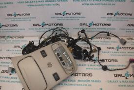 FORD GALAXY REAR OUTER GLASS MOTORS SET MK3 2006-2010 EN56U