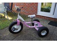 Trek Trikester Bike Pearl White/Metallic Pink Girls