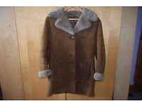 Vintage Ladies sheepskin coat