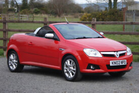 2007 VAUXHALL TIGRA 1.3 CDTI SPORT CONVERTIBLE **EXCELLENT THROUGHOUT**