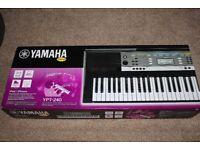 Brand New Yamaha YPT-240 Digital Keyboard
