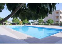 Cyprus, Paphos 2 bedroom green garden maisonette with well maintenance garden and swimming pool
