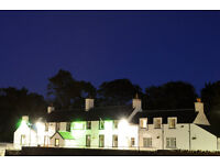 General Assistants required for busy Highland Hotel.