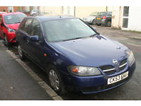 Nissan Almera 2003, 110K, plenty of scratches but the engine's running well