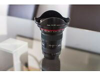 Canon EF 16-35mm F/2.8 II L USM Lens in Perfect condition