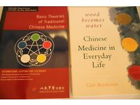 Traditional Chinese Medicine books - two for sale