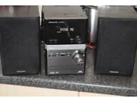 PANASONIC DAB RADIO/USB/CD/IPOD DOCK 70W DABANTENNA/CANSEE WORKING