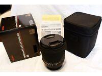 Sigma 18-50mm 2.8 Macro Nikon fit