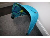 Mamas and Papas Sola 2 Pram pushchair HOOD spare replacement part - Delphic Blue CAN POST