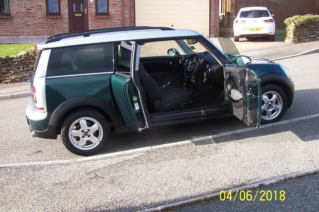 Mini Clubman Cooper D 16 Diesel Auto Low Mileage At 47600 In