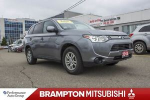 2014 Mitsubishi Outlander ES|4WD|BLUETOOTH| HEATED SEATS!