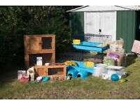RABBIT HUTCH AND HAMSTER CAGE COLLECTION