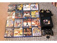 Playstation 2 + 17 games