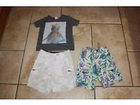 Small summer bundle of baby boys clothes age 9-12 months - NEXT GAP