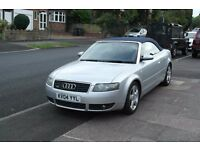2004 Audi A4 1.8T Cabriolet Quattro Covertable