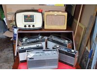 Various Old Radios - Roberts / Pye / Eveready