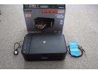 Canon Pixma MG3650 printer + scanner (maplin guarantee)