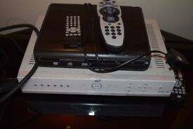 Sky+ Box and DVD Player - £15