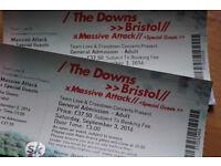 Massive Attack Tickets x 5