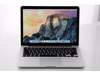 MacBook Pro retina 13 2013 250GB hard drive