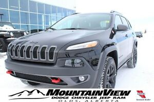 2017 Jeep Cherokee Trailhawk ONLY 76 KM!