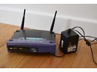 Linksys WRT54GS v.4 Wireless Broadband Router