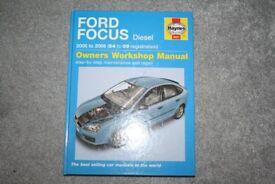 Ford Focus Haynes Manual