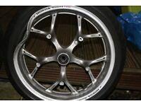 Wheels and Tyres - 120/70-17 160/60-17 Honda NC700DC Integra - DAMAGE