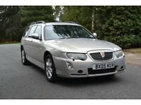 Rover 75 Connoisseur CDT Auto Tourer in Platinum Gold for sale