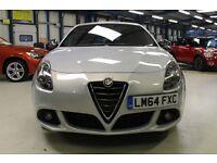 Alfa Romeo Giulietta JTDM-2 QV LINE TCT [1 OWNER / SAT NAV / DAB RADIO] (lunar pearl metallic) 2014