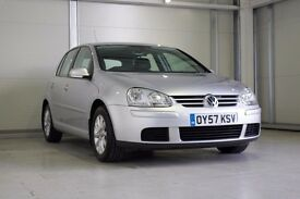 2007 VW Golf Automatic 1.6 FSI Match, Full VW Service History, NEW MOT