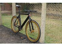 Special Offer Aluminium Alloy Frame Single speed road bike fixed gear racing fixie bicycle grf