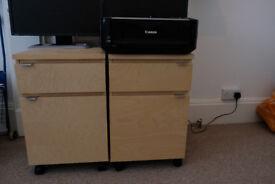 IKEA Desk Drawer Units/Pedestals for underneath a desk