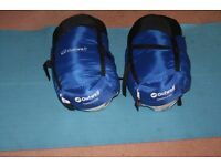pair of Outwell Comfort 1700 sleeping bags