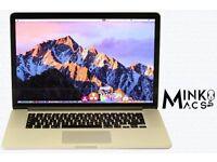 """15"""" Apple MacBook Pro Retina 2.3Ghz i7 Quad Core 8gb 256GB SSD Logic Pro X Final Cut Pro Ableton"""