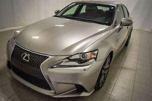 2014 Lexus IS 250 F-Sport, AWD, Toit Ouvrant, Smart Keys, Naviga