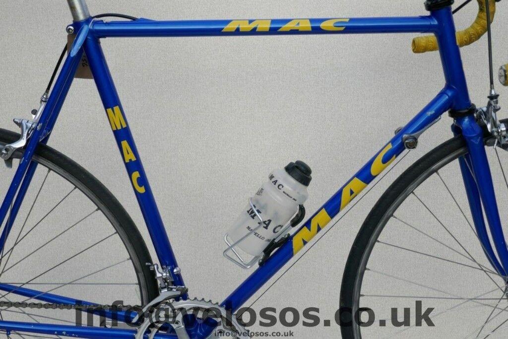 Lightweight Steel Road Bike Racing bike Italian Columbus MAC CIOCC ...