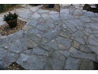 FREE to anyone collecting from Torquay. - slate 'crazy paving'