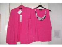 LADIES CAMISOLE WITH MATCHING JACKET BRAND NEW WITH TAGS