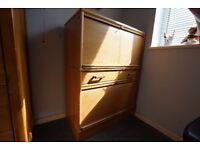 Kinnarps office / home roll top cabinet (lockable)