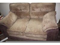 DELTA collection range 2x2 seater sofa's