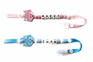 Personalized Pacifier Clip - Baby Shower Gift !