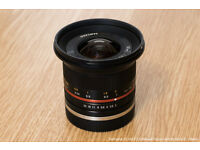 Samyang 12 mm F2.0 Manual Focus Lens for Sony-E mount