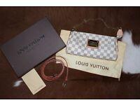 Louis Vuitton Eva clutch grey / boxed/ brand new