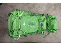 OSPREY ATMOS 65AG RUCKSACK USED ONCE
