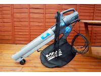 Mac-Allister Leaf blower / vacuum & mulcher, Extendable