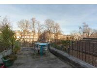 * Lovely top floor flat * Roof Terrace * Near multiple tube stations *