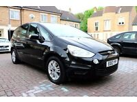 FORD S-MAX 2.0 TDCI ZETEC 5 DOOR 7 SEATS FSH HPI CLEAR 2 KEYS 1 OWNER PCO BADGE EXCELLENT CONDITION